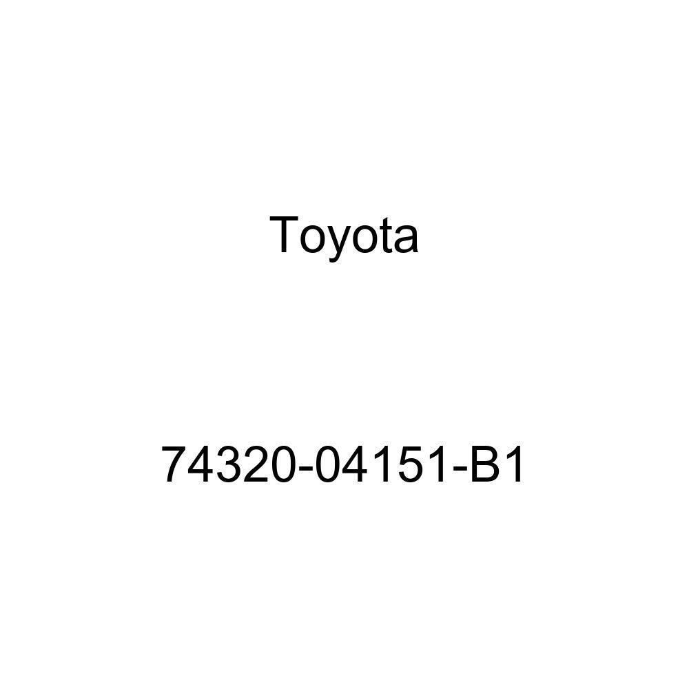 TOYOTA Genuine 74320-04151-B1 Visor Assembly