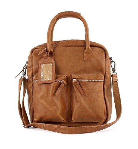 De Shopper Asa Bolso The Mano Tabaco Bag Cowboysbag EazqnRWE