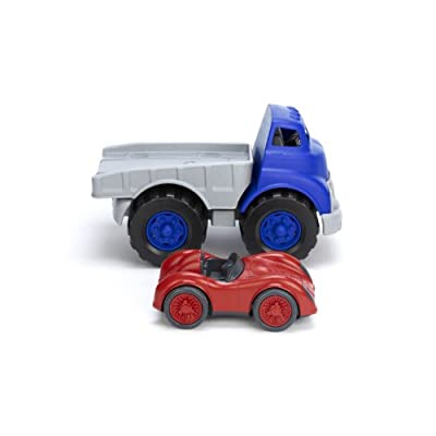 Green Toys Flat Bed Truck & Race Car: Green Toys: Toys & Games