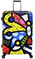 Heys USA Luggage Britto Butterfly 30 Inch Hardside Spinner