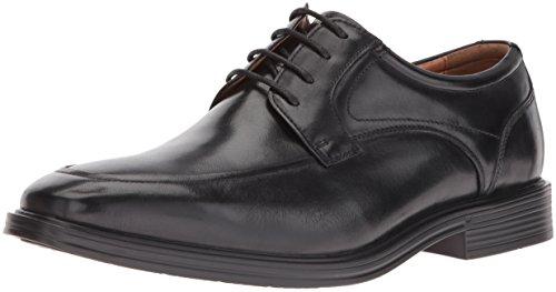 Florsheim Men's Holtyn Comfortech Moc Toe Oxford Dress Shoe, Black, 7 D US ()