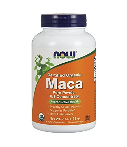 NOW Organic Maca Pure Powder,7-Ounce