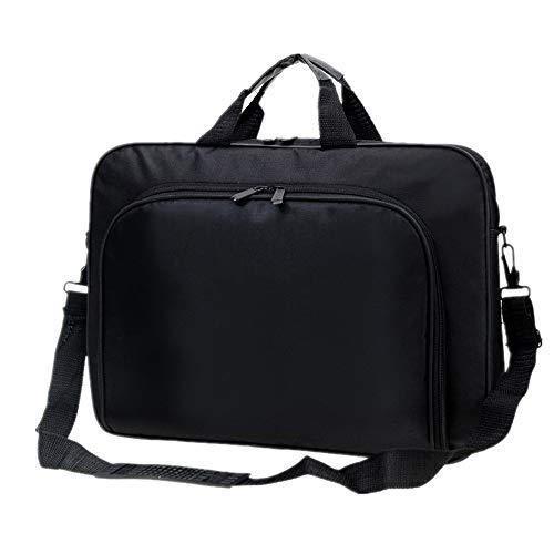 FeliciaJuan Handmade Leather Briefcase Laptop Bag 15Inch Briefcase Shoulder Messenger Bag Water Repellent Laptop Bag Satchel Tablet Bussiness Carrying Handbag Laptop Sleeve for Unisex