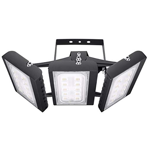 Security Area Light (LED Flood Light Outdoor, STASUN 150W 13500lm LED Security Lights with 330°Wide Lighting Area, 3000K Warm White, OSRAM LED Chips, Adjustable Heads, Waterproof, Great for Yard, Street, Parking Lot)