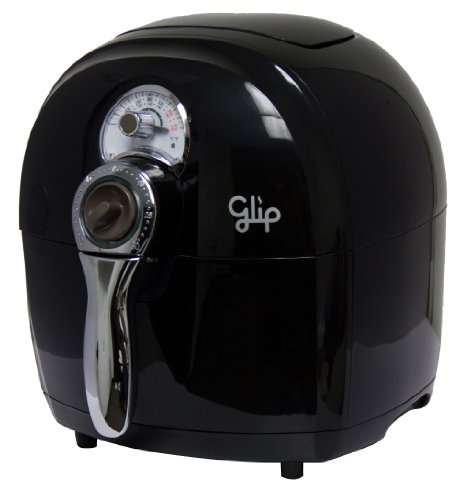 Glip AF800 Oil-Less Air Fryer, Black