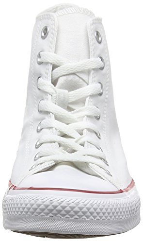 Converse AS HI CAN OPTIC. WHT M7650 - Botines de lona unisex, color blanco Blanco