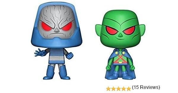 Funko-Pop Vinilo DC 2 Pack Darkseid + Martian 16X20cm, Color Standard (24415): Amazon.es: Juguetes y juegos