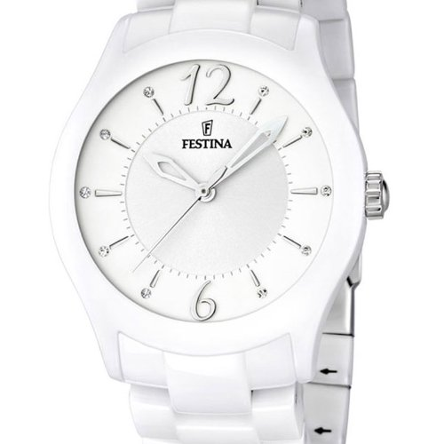 Amazon.com: Festina Ceramic Collection Wristwatch for women Made of Ceramic: Watches