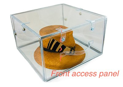 Good Invisibox The Clear Collapsable Storage Solution For Hat Boxes, Shoe Boxes  And Transparent Soft Plastic Boxes For ...
