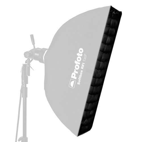 Profoto 254628 50-Degree Softgrid RFi for 1x4 Inches Softbox (Black) by Profoto