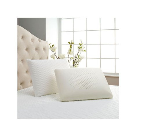 Comfort Tech™ Serene® Comfort Foam Traditional Shape Pillow, Cradles and Comforts Your Head While Millions of Air Support Cells Give the Support Vital to a Good Night's Sleep by Comfort TechTM Serene®