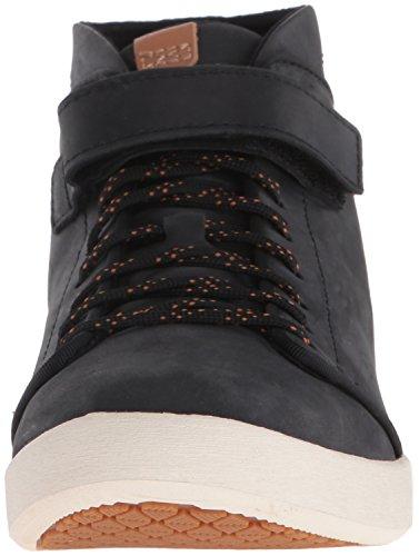 W Willow Chukka top black Blk Teva Women's Black Hi Sneakers 47qfHH5xw