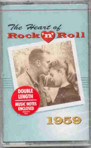 The Heart of Rock N Roll 1959 (Original Time Life CASSETTE Tape Featuring 20 Hit Tracks)