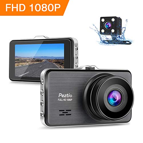 Dash Cams For Cars Front and Rear Full HD 1080P Car Camera, Dual Dash Cam with Night...