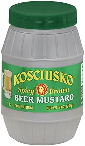 Mustard: Plochman's Kosciusko Beer