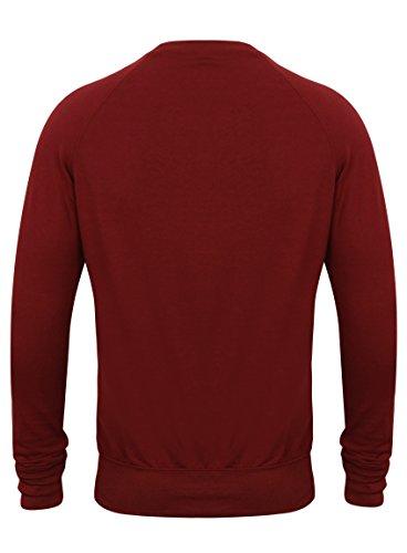 Pantaloni Skinny Tuta E Cerniera Rosso Fashion Fabrica Elasticizzata Con Fit Zip Tasche 8ES5Hxq