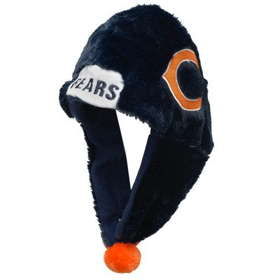 [NFL Chicago Bears 2012 Short Helmet Hat] (Male Football Player Costume)