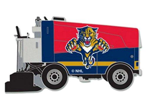 fan products of Florida Panthers WinCraft Red & Navy Ice Hockey Zamboni Metal Lapel Pin