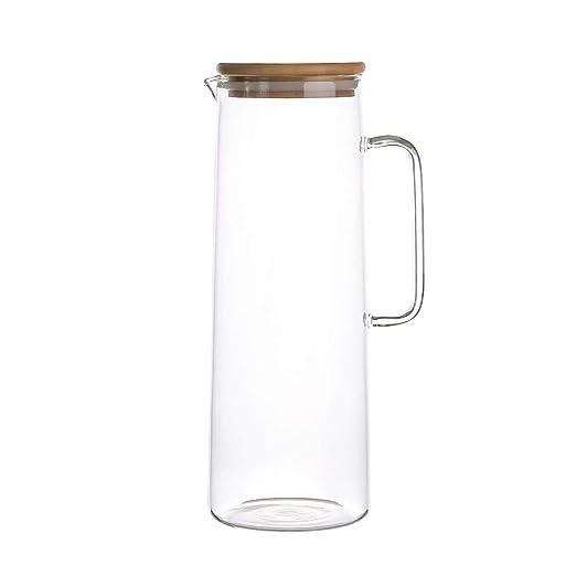 Jarra de vidrio Jarras para Agua Puede Calentar Café Olla A Prueba ...