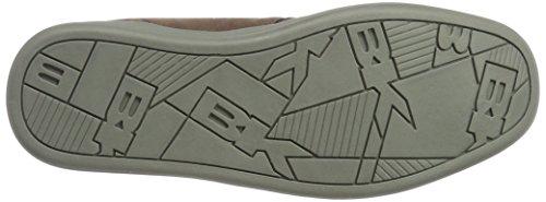 British Knights Herren copal Mid Hohe Sneaker Braun (Dk Brown/Grey)