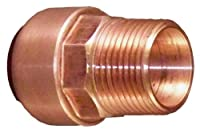 Elkhart Products 10169922 CopperBite Lead-Free 1/2-Inch Copper by Male Push-Fit Male Adapter