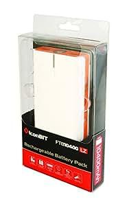 iconBIT FTB10400LZ - Cargador (Interior, Exterior, Universal, Batería, USB, Naranja, Color blanco, 5V, 5V)