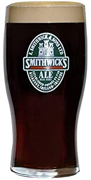 Smithwicks Label 20 Oz Pint Glasses 24 Pack by Smithwicks