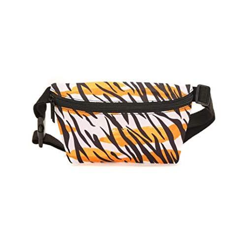 FYDELITY Ultra-Slim Fanny Pack Bum Bags:FLYING TIGER Cheetah