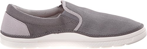 Pictures of Crocs Men's Norlin Canvas Slip-on 202772 Khaki/White 2