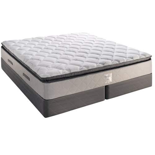 Fairmont Hotels in Room Bed Sealy Posturepedic Hospitality Grade Mattress Plush Pillow Top - King Size with 9