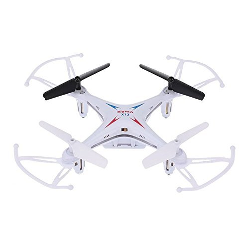 Syma-X13-Miracle-24G-4CH-6-Axis-Gyros-RC-Drone-Remote-Control-Aircraft-Roll-360-Helicopters-White