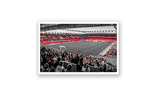 ArtsyCanvas Liverpool - Anfield (18x10 - Poster Anfield