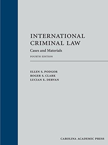 International Criminal Law: Cases and Materials (Loose-leaf version)