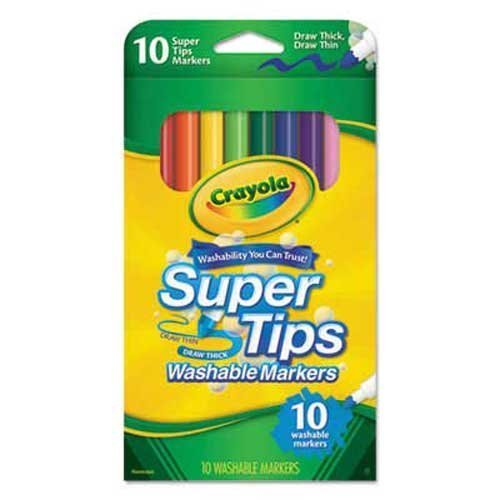 Crayola Washable SuperTips Markers Assorted