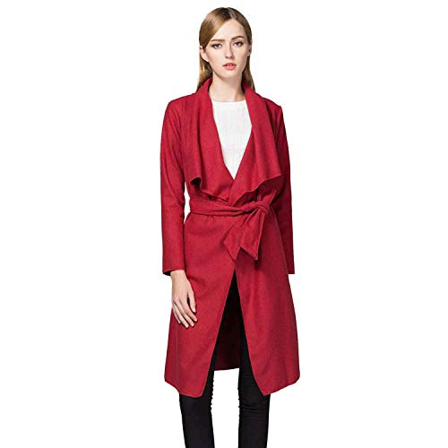 Cardigan Young Femme Manteau Fit Revers El Outerwear Manches Slim Styles Fashion Longues Automne Longues Printemps gxXHXqC