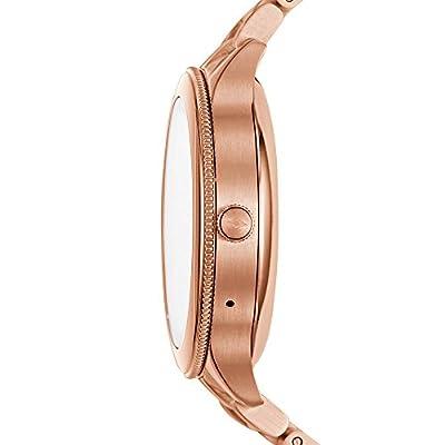 Fossil Women's Gen 3 Venture Stainless Steel Smartwatch, Color: Rose Gold-Tone (Model: FTW6000)