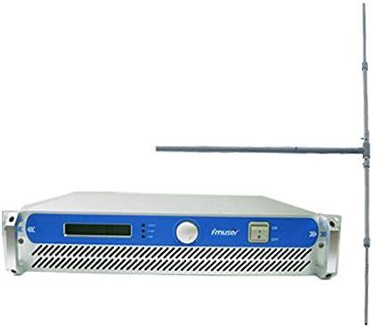FMUSER FSN-150 150 W transmisor de Radio FM + DP100 FM antena dipolo + Cable 20 m SYV-50 – 7 paquete para estación de radio FM