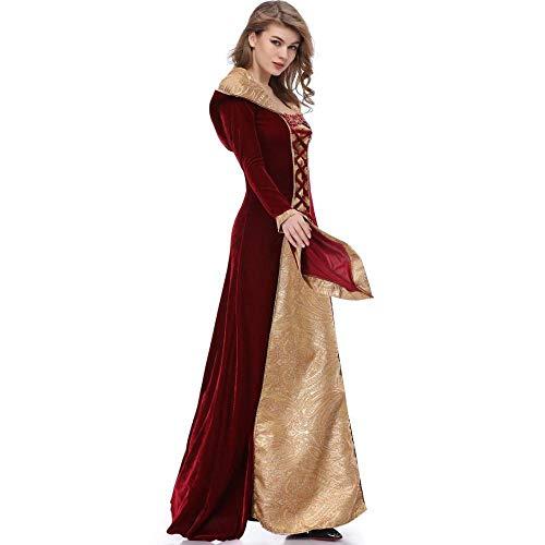 Uniforme Gioco Abito Shisky Personaggio Il Cosplay Donne Costume Vestire Da Regina Maxi Del Per Halloween PzIwqICSx