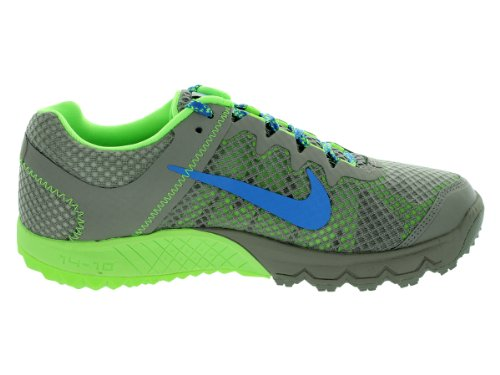 Nike Donna Zoom Wildhorse Mine Grigio / Dstnc Blue / Flsh Lm Scarpe Da Corsa 6.5 Donne Us