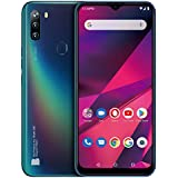 """BLU G90-6.5"""" HD+ Smartphone with Triple Main Camera, 64GB+4GB RAM and Android 10 -Blue"""