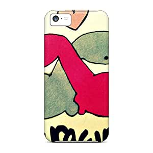 Iphone 5c Case, Premium Protective Case With Awesome Look - 3 Rawr