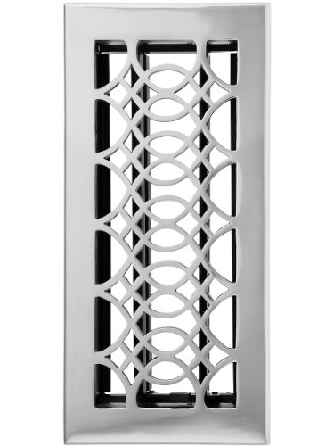 Solid Brass Louvered Register (6