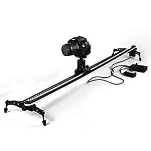 EACHSHOT® ComStar CS-EBSL120 120CM 1.2M Electronic Motorized Camera Track Video Slider Video Stabilization for Cinema film and Time lapse