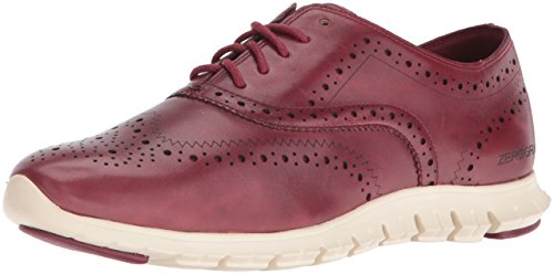 Cole Haan Women's Zerogrand Wing Ox Oxford, Tango Red, 9.5 B US by Cole Haan