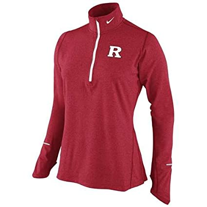 55788094 NIKE Rutgers Scarlet Knights Women's Dri-Fit Element Top - Junior Women - M  (