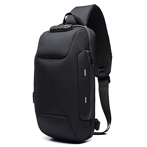STARmoon Anti-Theft Backpack with 3-Digit Lock Shoulder Bag Waterproof for Mobile Phone Travel ()