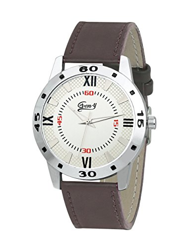 Gen y GY 026 Brown Analog Watch   for Boys and Men …