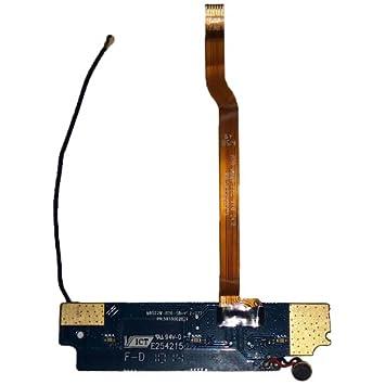 Movilconsolas Subplaca con Micro, Flex y Cable coaxial 3GO Droxio C40 Swap