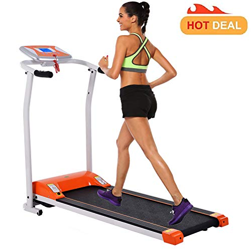 Miageek Folding Electric Support Motorized Power Fitness Jogging Walking Running Machine Equipment Treadmills for Home Indoor Gym[US Stock] ()