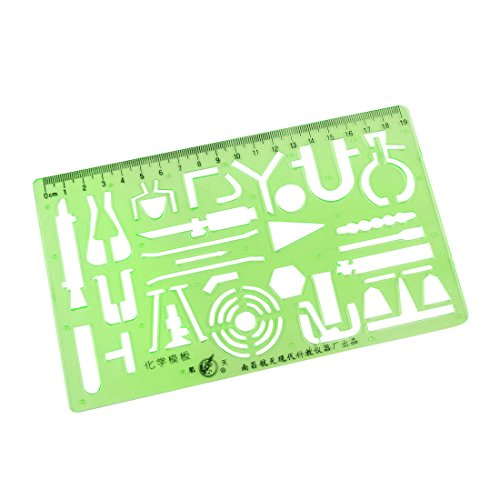 uxcell Plastic Rectangle Graffiti Template